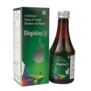 fungal diastase and papain syrup