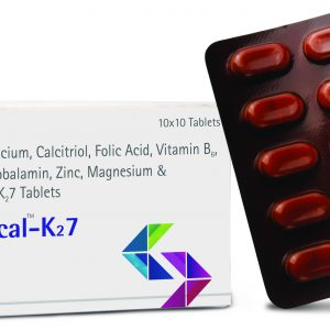 coracl calcium, calcitriol, folic acid, vitamin b6, methylcobalamin, zinc, magnesium and vitamin k27 tablets